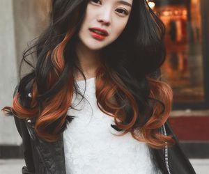 hair, ulzzang, and asian image