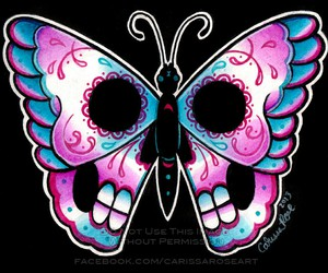 art, arte, and butterfly image