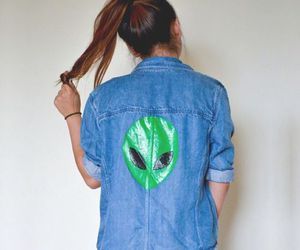 alien, fashion, and grunge image