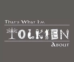 tolkien, LOTR, and the hobbit image