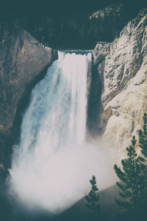 waterfall, beautiful, and places image