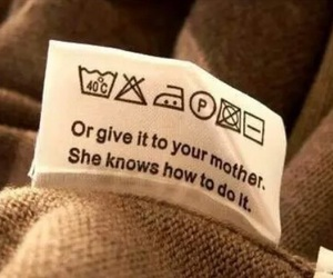 funny, mother, and clothes image