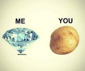 me, you, and diamond image