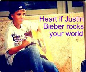 heart, rocks, and justin bieber image