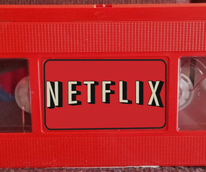red, netflix, and aesthetic image