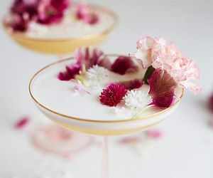 flowers and drink image
