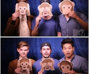 thomas sangster, dylan o'brien, and ki hong lee image