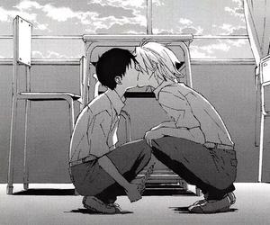 adorable, boy x boy, and kaworu image