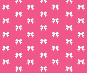 wallpaper, pink, and bow image