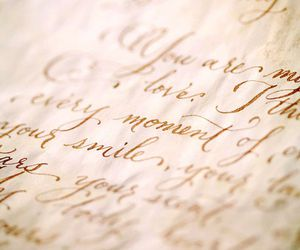 Letter, vintage, and writing image