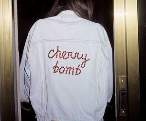 cherry bomb, grunge, and jacket image