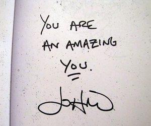 john mayer, amazing, and you image