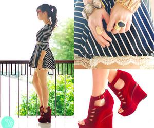 colours, fashion, and bun image