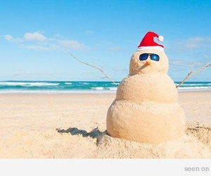 australia, snowman, and Sandman image