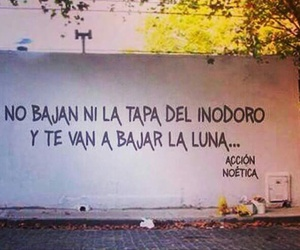 frases, luna, and accion poetica image