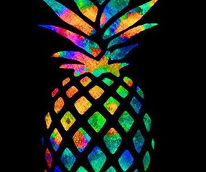 pineapple, wallpaper, and colors image