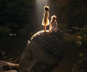 india, a little princess, and Buddha image