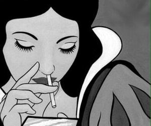 snow white, drugs, and cocaine image