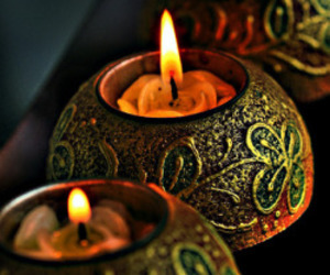 candle and fire image