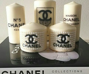 candle and chanel image