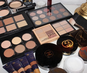 make up, chanel, and love image