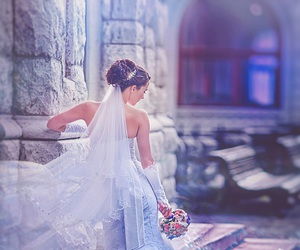 beautiful, bridal, and luxury image