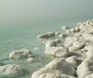 landscape, water, and dead sea image