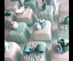 beautiful, butterfly, and cake image