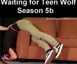 scott mccall, waiting, and dylan obrien image
