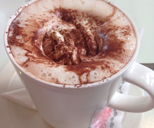 brown, chocolate, and hot chocolate image