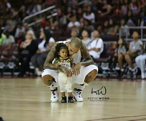 baby, Basketball, and chris brown image