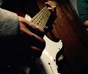 guitar, music, and live image