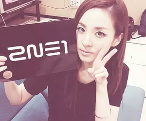 2ne1, dara, and sandara park image