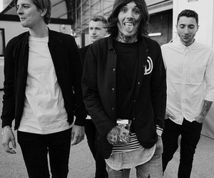 bmth, bring me the horizon, and oliver sykes image