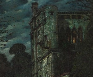 goth, gothic, and art image