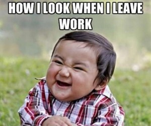 funny, work, and baby image