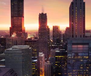 chicago, illinois, and usa image