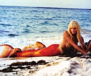 mermaid, splash, and beautiful image