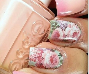 fashion, flower, and nail art image