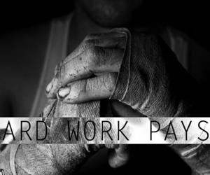 boxing, hard, and motivation image