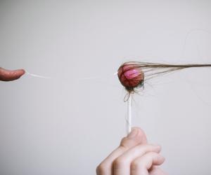 art, yung cheng lin, and hair image