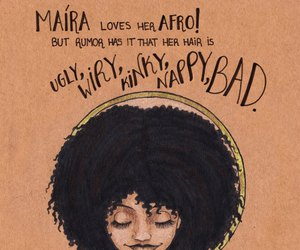 Afro and beauty image