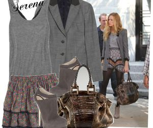 clothes, fashion, and gossip girl image