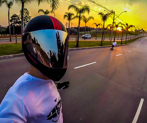 downhill, freedom, and longboard image