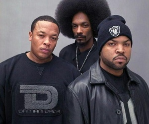 Dr Dre, ice cube, and snoop dogg image