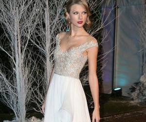 Taylor Swift, dress, and white image