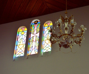 candelabrum, church, and color image