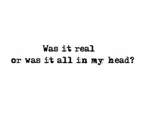 all in my head and love image
