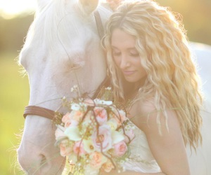 beauty, bridal, and chic image