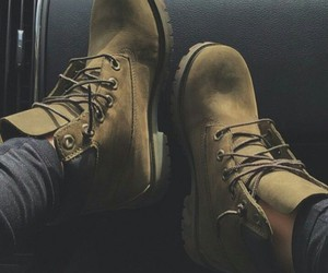 timberland, boots, and sneakers image